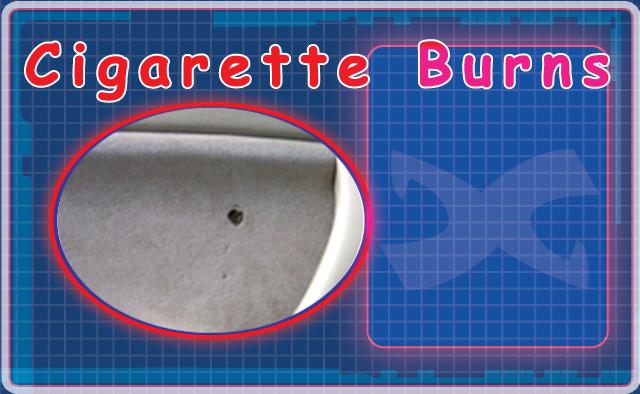 Cigarette Burn Repair Kit Cloth Repair Cigarette Burns on Door